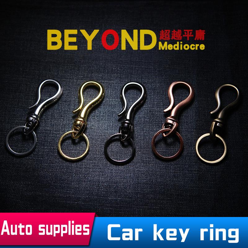 Car Key Ring Chain Keychain For BMW Mercedes Volkswagen Toyota Honda Buick Men And Women Retro Chaveiro Porta Chaves llaveros(China (Mainland))