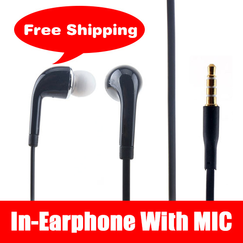 Earphone J5 Handsfree with Mic in ear For SAMSUNG GALAXY S3 S4 Note3 Iphone 6 5