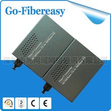 Bi Di individual modo Single Fiber 10 / 100 Mbps fibra óptica Media Converter 25 km 2 unids/lote(China (Mainland))