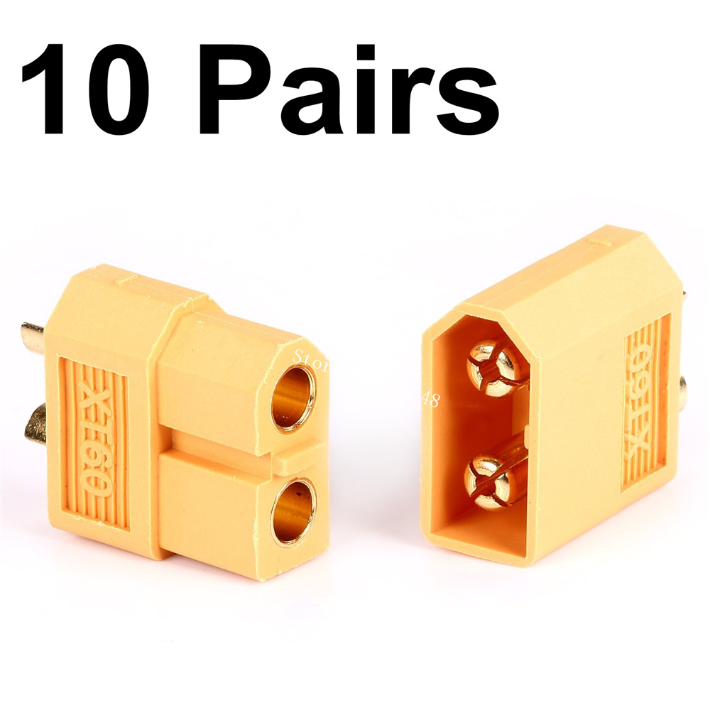 10 Pairs XT60 Male Female Connectors Plug for RC Lipo Battery ESC Motor Replacement<br><br>Aliexpress