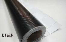 127 x 30 cm Car Styling haute qualité autocollants 3D en Fiber de carbone sergé bande Film Viny wrap décoration bricolage facile decal gros