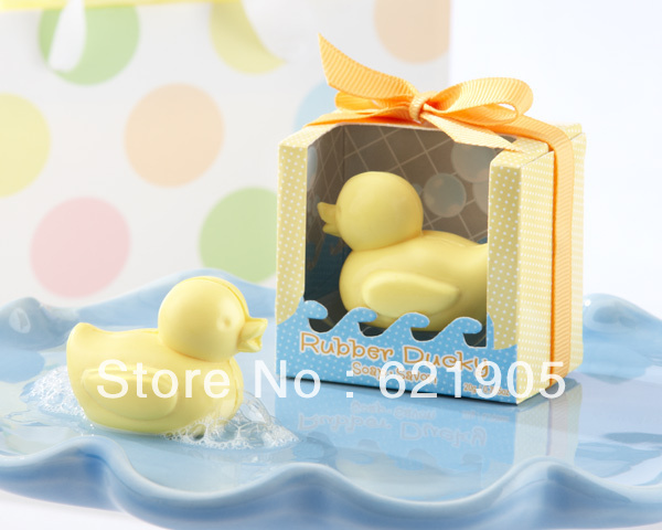 Freeshipping (20pcs) Soap Duck for Wedding Gifts and Wedding Favors Wholesale and retail(China (Mainland))