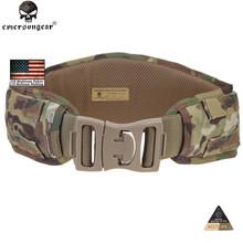 Emersongear Sportswear  MOLLE Padded Waist Support Mens Belts Tactical Belt Men Airsoft Combat Army Belt Ceinture EM9086(China (Mainland))