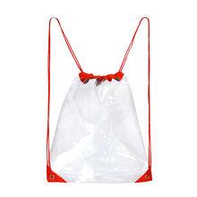 2019 Transparan Fashion Tas Bahu Serut Tas Pantai Tas Tahan Air Tas Transparan Mochilas Feminina Bagpack Mochila Mujer(China)