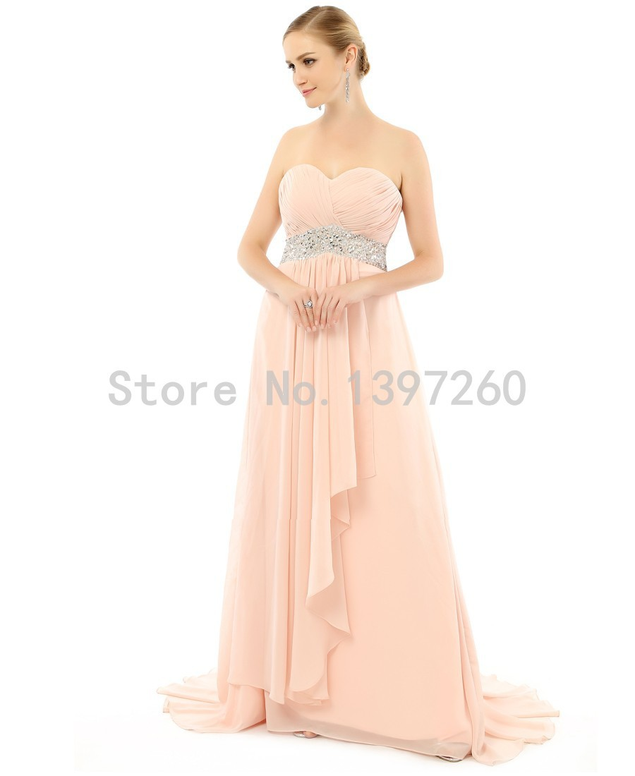 Champagne gold chiffon bridesmaid dresses promotion shop for strapless champagne gold corcal bridesmaid dresses long dresses for wedding guests 2017 chiffon party dress sh0022 ombrellifo Choice Image