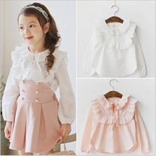 Buy School Girls Clothing Sets Kids Clothes Sets Princess Outfits Children Casual Lace shirt+skirt set 2-7y toddler girls clothing for $13.04 in AliExpress store