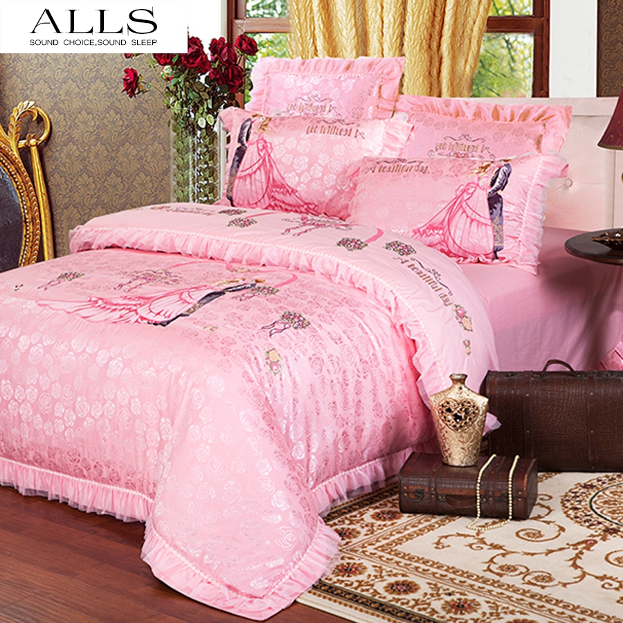 online kaufen gro handel prinzessin rosa betten aus china prinzessin rosa betten gro h ndler. Black Bedroom Furniture Sets. Home Design Ideas