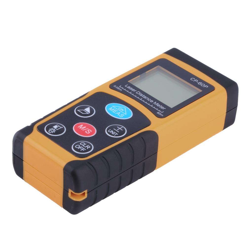 Гаджет  CP-60P Mini 60M Handheld Digital Laser Distance Meter Range Finder Diastimeter  New Arrival None Инструменты