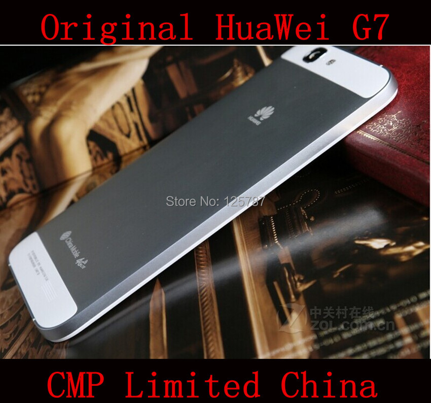 """Original HuaWei Ascend G7 4G LTE Cell Phone MSM8916 Quad Core Android 4.4 5.5"""" IPS 1280X720 2GB RAM 16GB ROM 13.0MP(China (Mainland))"""