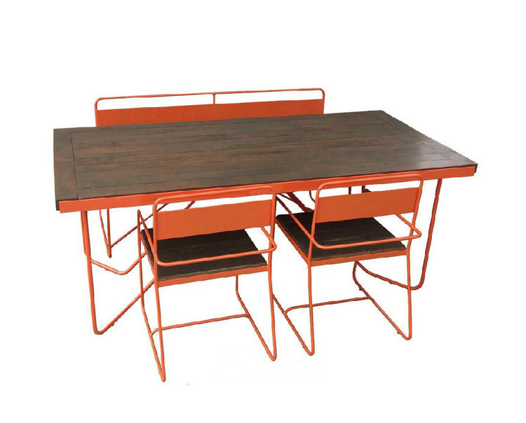 Factory Direct American Country Style Retro Industrial Design To Do The Old Wrought Iron Tables