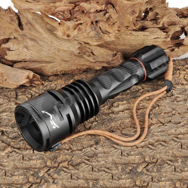 DHL 3-5Days 1 Set TrustFire TR-DF003 1600lm 5-Mode White Light Diving Flashlight + Cree XM-L T6+Waterproof + Free 26650 Battery<br><br>Aliexpress