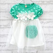 Summer Hot sell baby dress kids wear girls Princess dress kids clothing Dresses(China (Mainland))