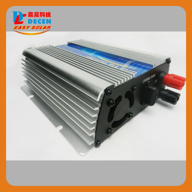 DECEN@ 10.5-30Vdc 300W Solar Pure Sine Wave Grid Tie Inverter Output 190-260Vac,power inverter For Home Solar Energy System(China (Mainland))