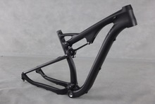 2016 Popular 29er carbon suspension bike frame dual mtb frames thru axle 142*12mm rear axle mountain frame(China (Mainland))