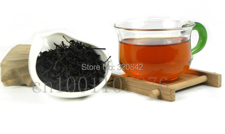 250g Top Class Lapsang Souchong without smoke Wuyi Organic Black Tea Black Warm stomach the chinese