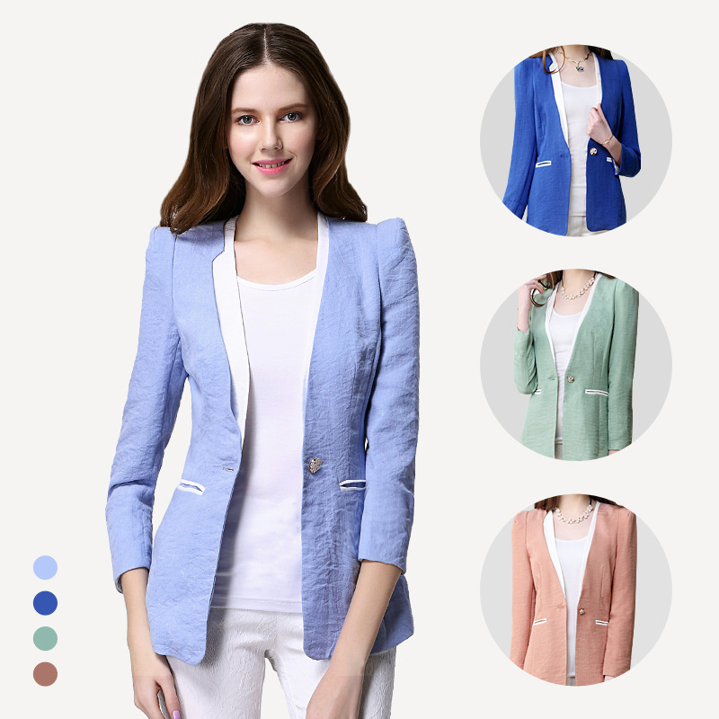 Summer Blazers For Ladies - Trendy Clothes
