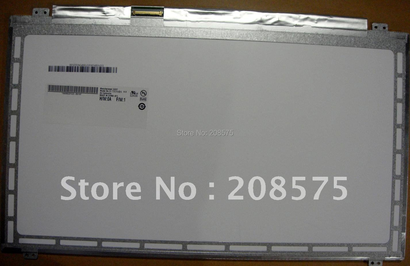 Free shipping B156XW04 V.0 V.6 V.5 LP156WH3 B156XW03 N156BGE-L41 N156B6-L0D LTN156AT20 LTN156AT30 NEW LED Display Laptop Screen(China (Mainland))
