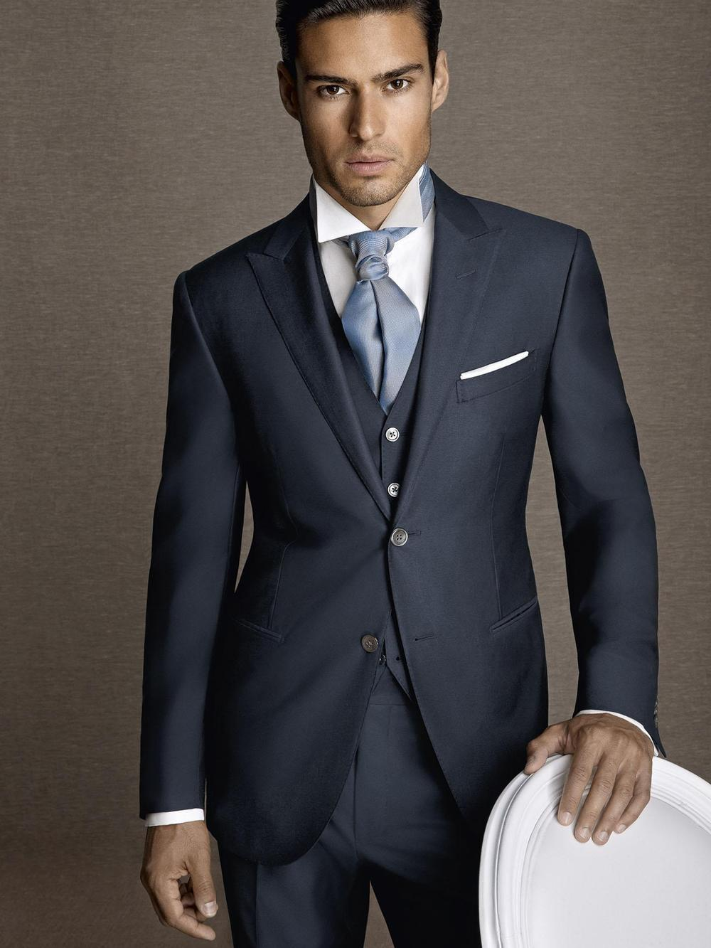Online Get Cheap Navy Blue Suit Men -Aliexpress.com | Alibaba Group