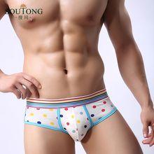 Sexy Mens Underwears Briefs Cotton Men Underwear U-Convex Male Cuecas Low Waist Shorts Hombre Lovely Man Cartoon Bulge Trunks(China (Mainland))