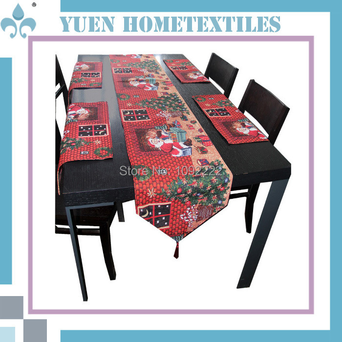 christmas Christmas  table nordic table home runner Nordic decoration tablecloth runner christmas