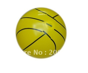 Free shipping promotional inflatable product 35cm inflatable basketball beach ball wholsales and retail