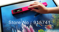 Free Shipping USB Portable A4 portable scanner,With rechargeable lithium electricity  Photoelectric Sensor,600 dpi Resolution