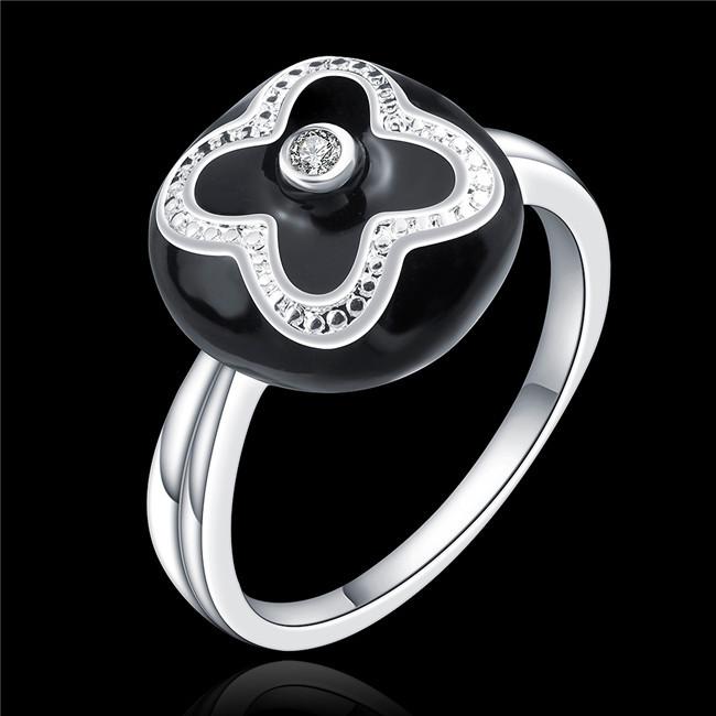 Anneau Promotion-Achetez des Ronde Lunette Sertie De Diamants Anneau ...