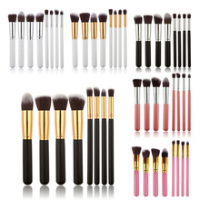 8PCS Brushes Make Up Beauty Cosmetics Foundation Blending Makeup Brush Kit Set Wooden Makeup Tool(China (Mainland))