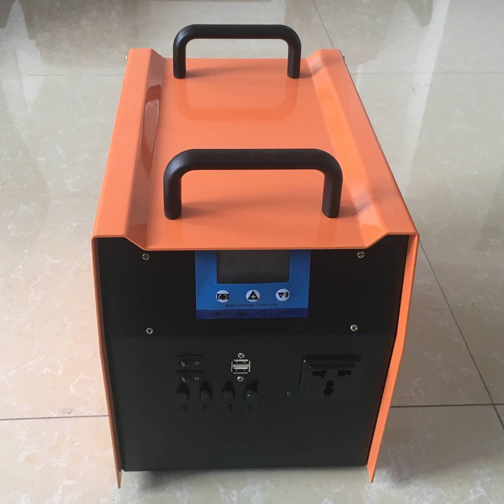 Portable Solar Power System 600W Power Inverter Solar Charge Controller Battery Inverter controller(China (Mainland))
