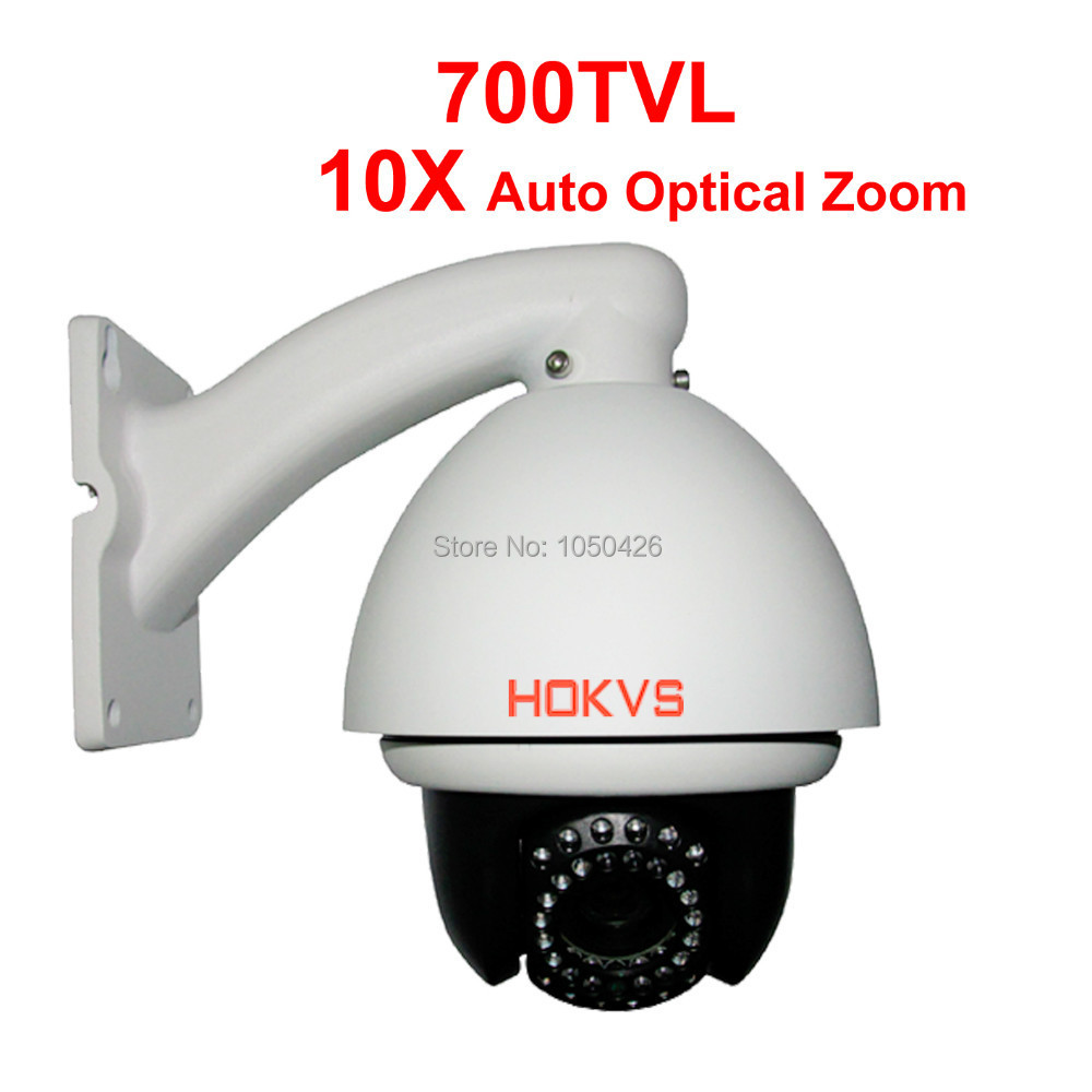 10X Optical Zoom Sony CCD 700TVL High Speed Dome Camera PTZ(China (Mainland))