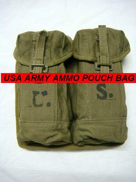 ORIGINAL VIETNAM WAR CHINESE TYPE 56 AK CHEST RIG AMMO POUCH(China (Mainland))