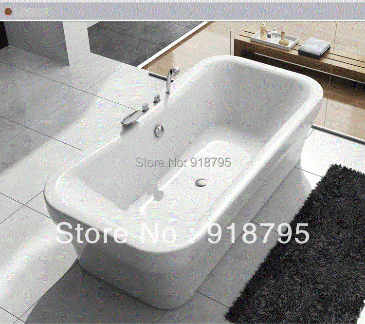 Acrílico banheira de imersão banheira independente 6008(China (Mainland))