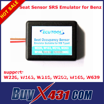Factory price 2pcs /lot Occupation Sensor SRS Emulator Airbag Repair for Mercedes Benz Type 6 W220 W163 W210 W203 W168 W639