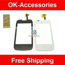 Buy Fly IQ431 IQ 431 Touch Screen Digitizer Black White Color 1PC /Lot 3M Adhesive Tape for $4.29 in AliExpress store