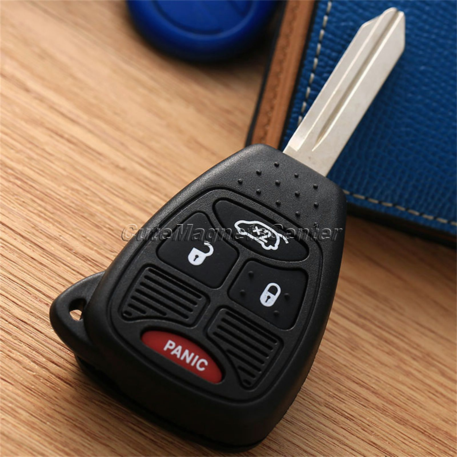 Remote Key Fob Uncut Blade Blank Keyless Car Auto key Shell Cover Remote Keyless Entry Combo Transmitter Chrysler Jep Key Fob(China (Mainland))