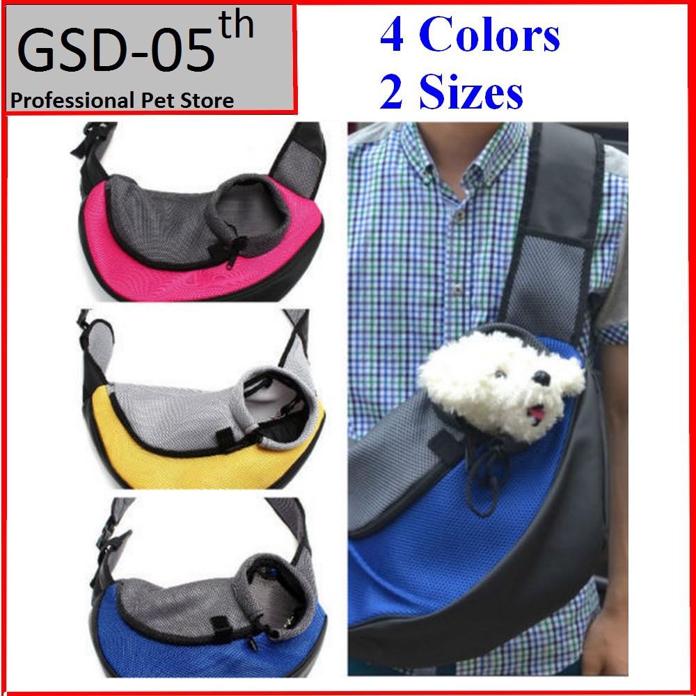 Pet Dog Cat Puppy Front Carrier Mesh Comfort Travel Tote Shoulder Bag Sling Backpack(China (Mainland))