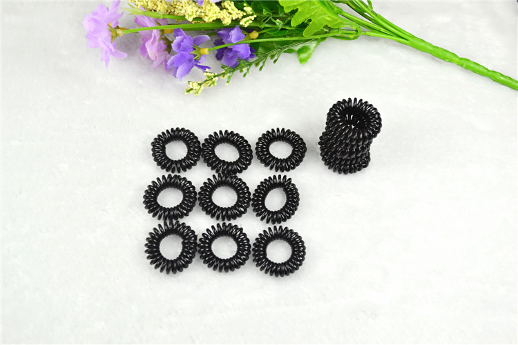 Telephone line hair ring, hair rope Korea, dollar store jewelry, hair rope Korean sources, jewelry,Hair Accessories(China (Mainland))