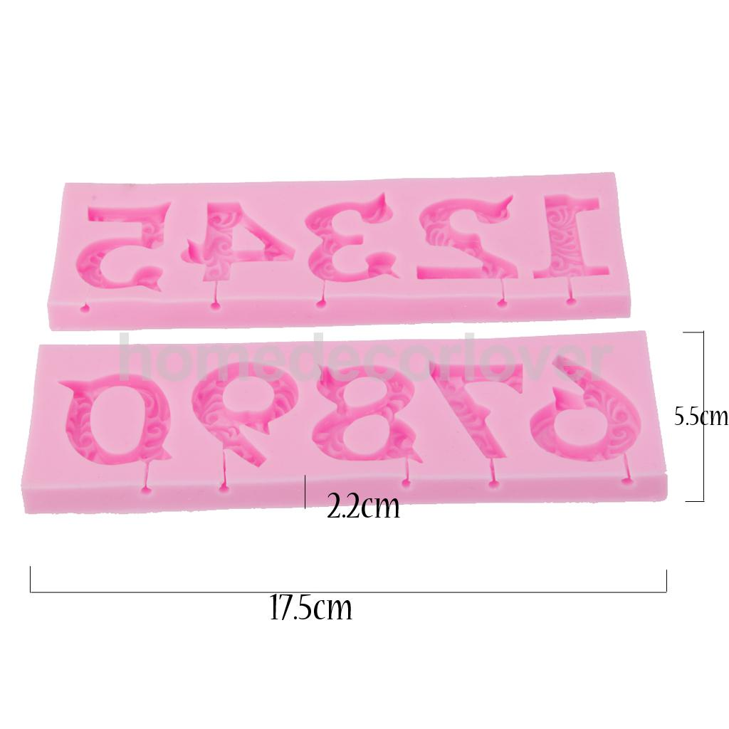 Cake Decor Numbers : Popular Silicone Figures-Buy Cheap Silicone Figures lots ...