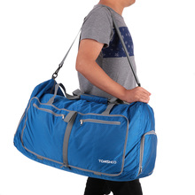 TOMSHOO Polyester Hand Gym Bags Sports Bags Women Men 80L Foldable Duffle Bag Travel Gym Fitness Feminina Water-resistant Z012(China (Mainland))