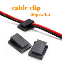 3M Adhesive Car Cable Clips Cable Drop Wire Holder to fix Car Charger Desktop computers cable clips