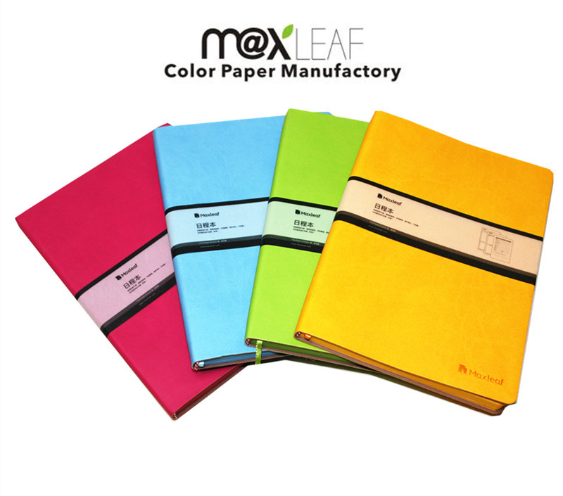 213*145mm Vintage color faux leather cover notebook Business book notepad memo pad dairy pocket notebook hot sale MLA580(China (Mainland))