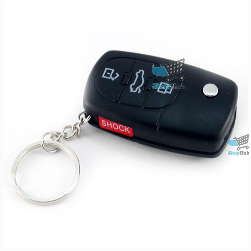 ShopHub Affordable! Electric Shock Gag Car Key Remote Trick Joke Prank Toy Content!(China (Mainland))