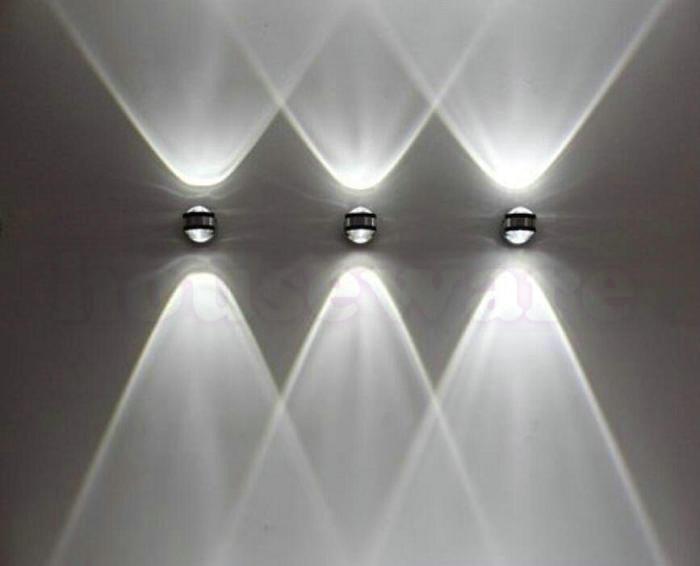 Modern Minimalist AC85V-265V 6W LED Aluminum Wall Lamp Living Room Bedroom Bedside Lamp Aisle Wall Lamp wx30(China (Mainland))