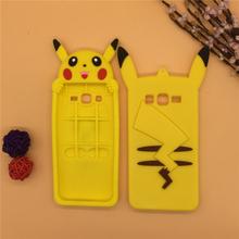 3D Cartoon Pokemon Pocket Monster Case Silicon Pikachu Rubber Cover Samsung Galaxy 2015 J5 J500 J5008 & J7 J700 J7008 - International Fashion Goods Stores store