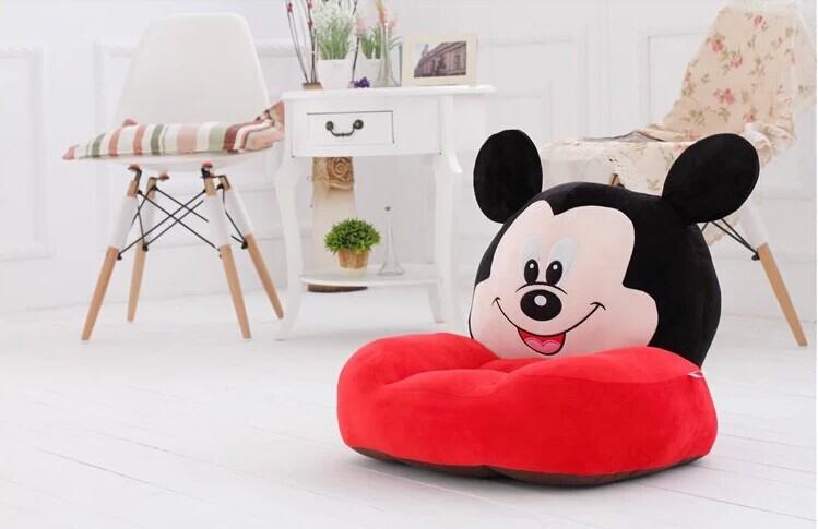 lovely plush Mickey mouse sofa toy the creative cartoon Mickey sofa doll birthday gift about 54x30x10cm(China (Mainland))
