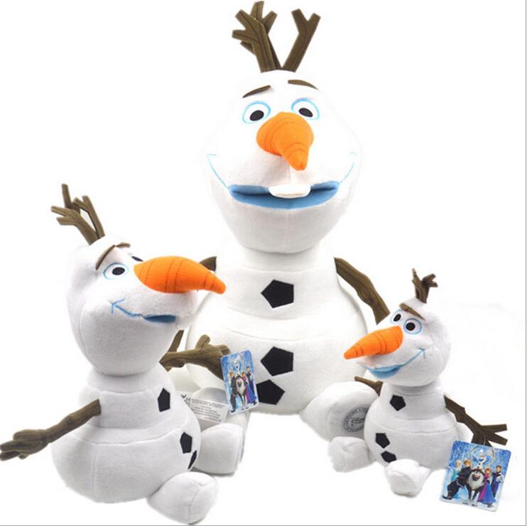 OLAF Plush Toys Doll 30CM Brinquedos Snowman pelucia Olaf peluche Stuffed Plush Baby boys girls kid Children Christmas Gift(China (Mainland))