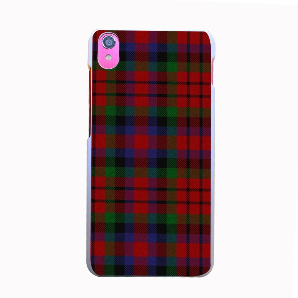 2250kbq RED BLUE font b TARTAN b font SCARF FASHION Style Hard Back Cover for Lenovo