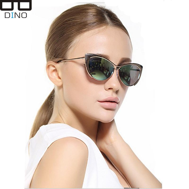 Vintage Cat Eye Sunglasses Retro Sunglasses Women Brand Designer Metal Frame Oculos Feminino Points Women Sun Glasses S3116(China (Mainland))