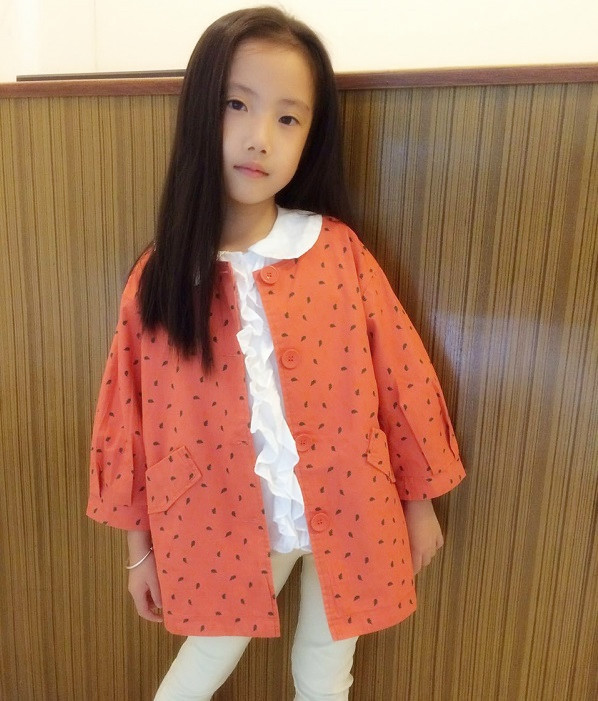 Children Girls Trench Coat Jacket Girls Winter Coats Clothes Cardigan Prubcess for Kids Clothing 2015 Autumn Outerwear ZZ-691<br><br>Aliexpress