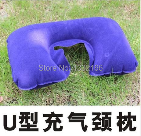 Free shipping car travel neck pillow airplane pillow inflatable inflatable(China (Mainland))